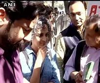 JNU row: Arundhati Roy, Kavita Krishnan join AISA protest