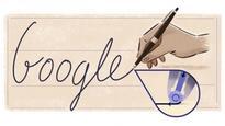 Google Doodle commemorates birthday of ball point pen inventor Ladislao Jose Biro