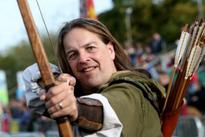 Nottingham's official Robin Hood hits back at critic who says he has a 'fake English accent'