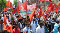 Farmers of Hadauti stage protest in Kota