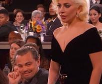 Golden Globes: Lady Gaga's Coming Through. Leonardo, You're in the Way