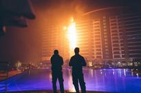 Coffee machine clue to Dubai fire which burned through building 'like it was made of paper'