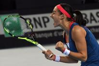 Caroline Garcia qualifies France for Fed Cup semis