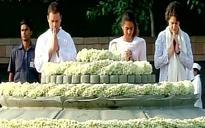Rajiv Gandhi birth anniversary: Sonia, Rahul pay respects to former PM