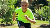 Boy's Antarctic marathon