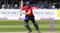 Taylor hat-trick to no avail as Cook, ten Doeschate hit tons