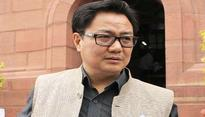 Condemn remark made by Karnataka HM on Bengaluru mass molestion: Kiren Rijiju