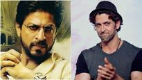 Watch: Here's how Shah Rukh Khan reacted when asked about his midnight meeting with Hrithik Roshan!