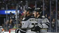 Carter's OT goal puts Kings past Hawks 2-1, 5th straight win (Yahoo Sports)
