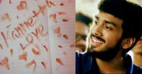 Kalidas Jayaram gets the shock of his life: a love letter written in blood