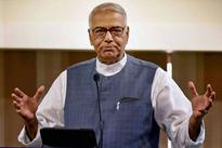 Can't blame Cong for 'mess' in economy: Yashwant Sinha