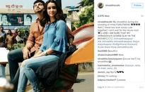 'Half Girlfriend' diaries: Shraddha and Arjun look adorable in new candid shot