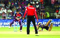 KKR pip Pune by two wickets