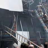Kerala: 15 shops burnt down in a fire at Kozhikode