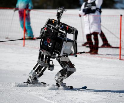 Winter Olympics sidelights: Robots take to the slopes on sidelines of Games