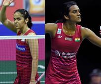 Sindhu, Saina in semis, Srikanth bows out of Badminton Worlds