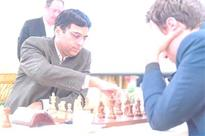 Zurich Chess Challenge: Viswanathan Anand in lead after beating Anish Giri
