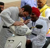 BJP, Sangh Parivar creating disharmony: Rahul