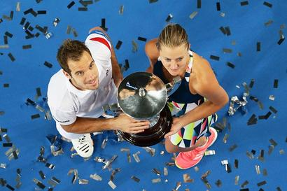 Gasquet inspires France to second Hopman Cup title