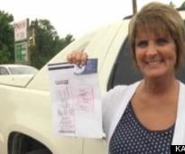 Mary-Jane Hart, Cashier, Sells Self $1 Million Powerball Ticket (VIDEO)