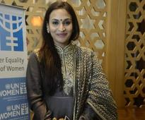 Aishwarya Dhanush was awarded the UN woman ambassodor at Taj Coromandel in Chennai