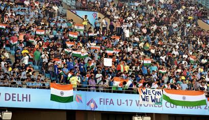 Attendance for Under-17 World Cup crosses 1 million mark