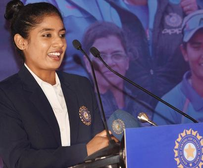In 18-year career, Mithali has played just 10 Tests!