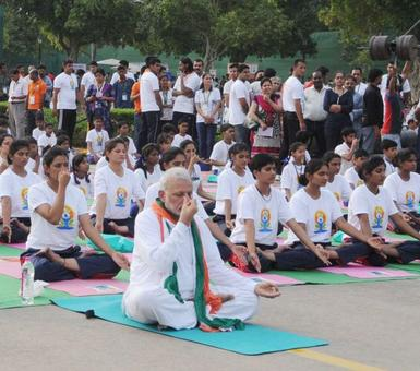 On June 21, Modi will do yoga in Chandigarh