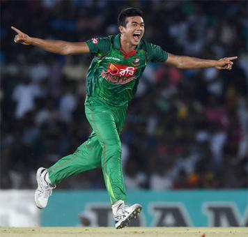 Dambulla one-dayer washed out after Taskin Ahmed hat-trick