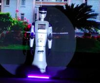 A smart robocop named after Hemant Karkare; Thailand places the first orders for this first Made In India Robo