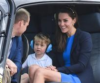 Prince George Gets An Exciting Introduction To His Dad's RAF Career