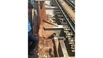 Fire disrupts trains on Harbour line