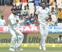 Ashwin becomes fastest bowler to scalp 250 Test wickets