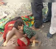 Baby Found Breastfeeding On His Dead Mother; The Sight Of The Boy Clinging Onto His Mother's Motionless Body Caught A Passerby's Attention
