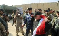 Iraq PM Haider al-Abadi visits Mosul, congratulates troops for liberating land from Islamic State