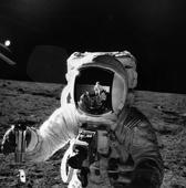 Moonwalker Alan Bean Says Aliens Haven't Visited Earth