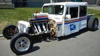 And the next postal delivery truck will be ...