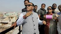 Gujarat CM Vijay Rupani, Amit Shah fly kites to celebrate Makar Sankranti