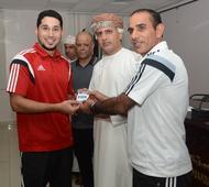 Oman FA presents FIFA badges to 17 Omani referees
