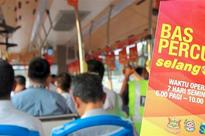 Free rides in Puchong next month