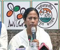 'LIP' Mamata thanks 'Maa, Maati, Manush', says won't ever support BJP