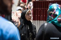 Egyptian students take part in high school exams