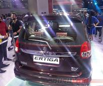 Maruti Ertiga Limited Edition at 2016 Auto Expo