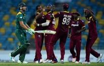 Windies blow Proteas away to reach final