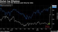 Nintendo Leapfrogs Sony in Market Value After Pokemon Frenzy: Chart