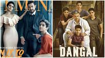 Aamir Khan, his Dangal daughters are a long way off from dusty wrestling ring in this glam photo, see pic