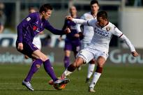 Ilicic, Rodriguez on target as Fiorentina rise to third