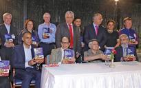 Ex Attorney-General releases book at IIC