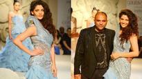 India Couture Week : Saiyami Kher of 'Mirzya' makes runway debut for Gaurav Gupta