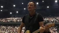 Bruce Springsteen dances in the dark after power outage